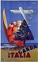 Poster by Giuseppe Riccobaldi - Italia Garda, Giuseppe Riccobaldi, Click for value