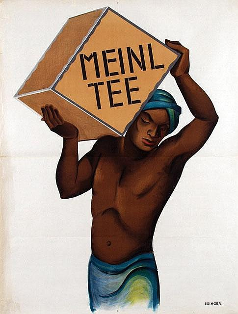 Poster by Otto Exinger - Meinl Tee