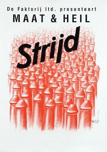Poster by  Yrrah - De Faktorij presenteert Maat  &  Heil Strijd