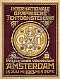 Poster by Cornelis Rol  - Int. Grafische Tentoonstelling Amsterdam, Cornelis Rol, Click for value