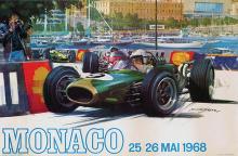 Poster by Michael Turner - Monaco