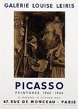 Poster by Pablo Picasso - Galerie Louise Leiris Picasso Peintures 1962-1963