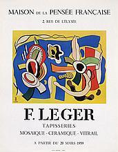 Poster by  Anonymous - Maison de la Pensée Francaise F. Léger
