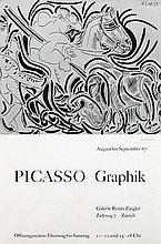 Poster by Pablo Picasso - Galerie Renée Ziegler Picasso Graphik