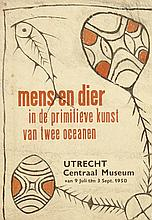 Poster by  Anonymous - Centraal Museum Utrecht mens en dier