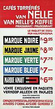 Poster by Jac. Jongert - Van Nelle's Koffie Cafés Torréfiés