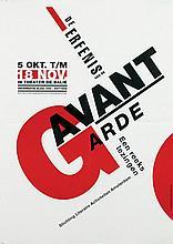 Poster by Perry Mulder - De erfenis van de Avant Garde