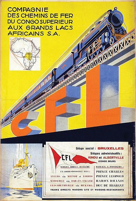 Poster by anonymous cfl compagnie des chemins de fer du co - Compagnie des wagons lits recrutement ...