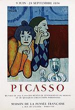 Poster by Pablo Picasso - Maison de la Pensée Francaise Picasso