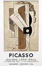 Poster by Pablo Picasso - Galerie Lucie Weill Picasso