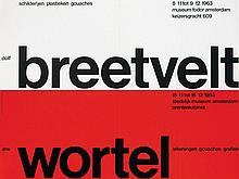 Poster by Willem H. Crouwel - dolf breetvelt ans wortel