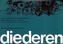 Poster by Willem H. Crouwel - diederen