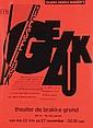 Posters (2) by Anthon Beeke - Globe speelt Katarakt
