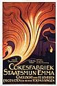 Poster by Cornelis Rol - Cokesfabriek Staatsmijn Emma