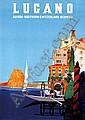 Posters: Buzzi Daniele (1890-1974) Lugano Suisse, Daniele Buzzi, Click for value