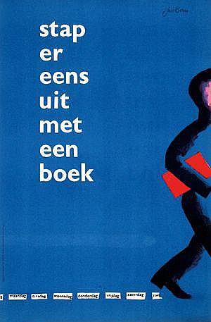 Posters: Bons Jan (1918-) stap er eens uit met een