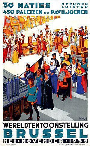 Posters: Bergh Joseph van den (1898-1967)