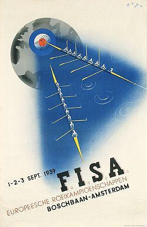 Posters: Nijgh Herman (1909-) F.I.S.A. Europeesche