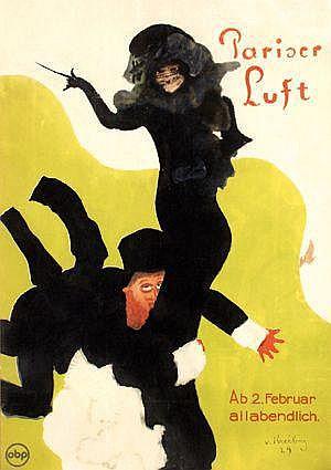 Posters: Kreibig Erwin von (1904-1961) Pariser