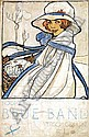 Posters: Cramer Rie (1887-1977) Blue Band 23,5x36,, Marie Cramer, Click for value
