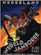 Poster by Jan Lavies - Wereld Jamboree Nederland
