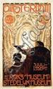 Poster by Huib Luns - Amsterdam Rijks-Museum Stedelijk-Museum