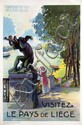 Poster by Emile Dupuis - Visitez le Pays de Liège