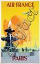 Poster by Vincent Guerra - Air France Paris