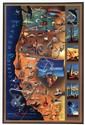 Poster by John Blaire - Pacific Panorama The Industrial West Coast
