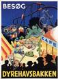 Poster by  Müff - Besog Dyrehavsbakken
