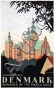 Poster by Hakon Spliid - Denmark Rosenborg Castle