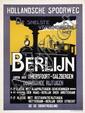 Poster by Johan Kesler - Hollandsche Spoorweg Berlijn