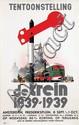 Poster by Jan Wijga - Tentoonstelling de trein