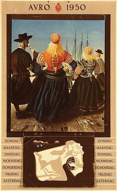 Poster by Eppo Doeve - A.V.R.O. calender