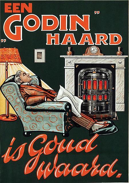 Poster by  Anonymous - Een Godin Haard is Goud waard