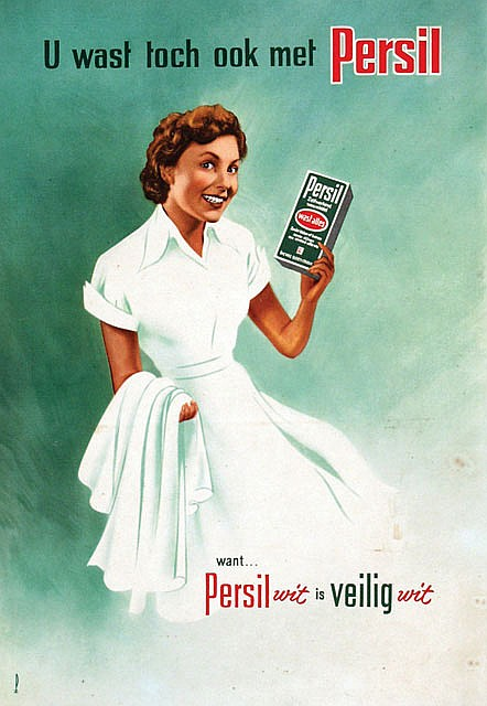 Poster by Advertising Agency PZ - U wast toch ook met Persil