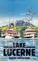 Poster by Werner Vogel - Lake Lucerne Central Switzerland