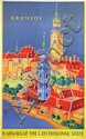 Poster by  Vostradovsky - Krumlov Railways of the Czechoslovak State