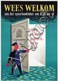 Posters (2) by Frits Stapel - Rijkspostspaarbank Wees Welkom