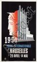 Poster by Leo Marfurt - Foire Internationale Bruxelles