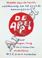 Posters (2) by Jan Bons - De Appel dubbelkruis