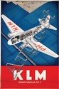Poster by  Anonymous - KLM Fokker Douglas DC-2