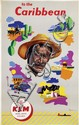 Poster by Leen Spierenburg - KLM to the Caribbean