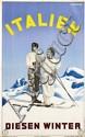 Poster by Ruggero A. Michahelles - Italien Diesen Winter
