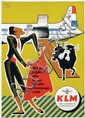 Poster by Mitchell Wright - Mit der KLM