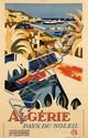 Poster by G. le Poitevin - Algérie pays du soleil