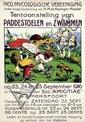 Poster by Alfred Ost - Tentoonstelling van Paddestoelen en Zwammen Amersfoort