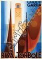 Poster by Giuseppe Riccobaldi - Lago di Garda Riva-Torbole