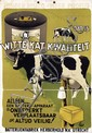 Poster by  Initials F.W. - Witte Kat Kwaliteit