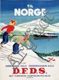 Poster by  Anonymous - D.F.D.S. til Norge